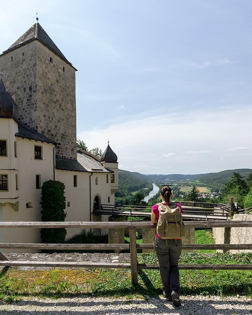 Burg-Prunn-Altmühltal-Bayern