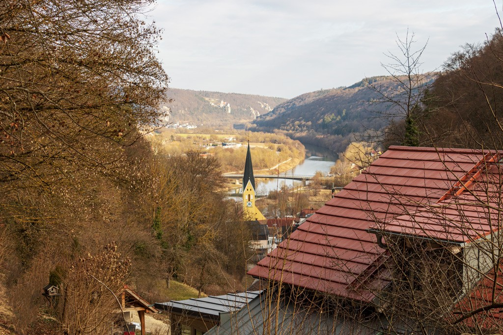 Ausblick auf Riedenburg