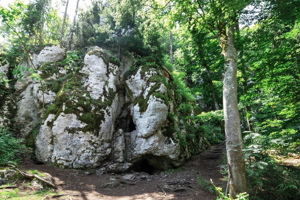 Kastlhänghöhle Naturschutzgebiet Klamm Altmühltal