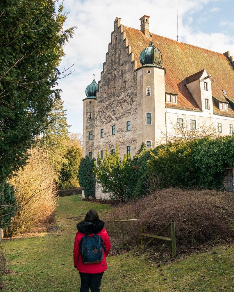 Wandern in Bayern Schloss Eggersberg