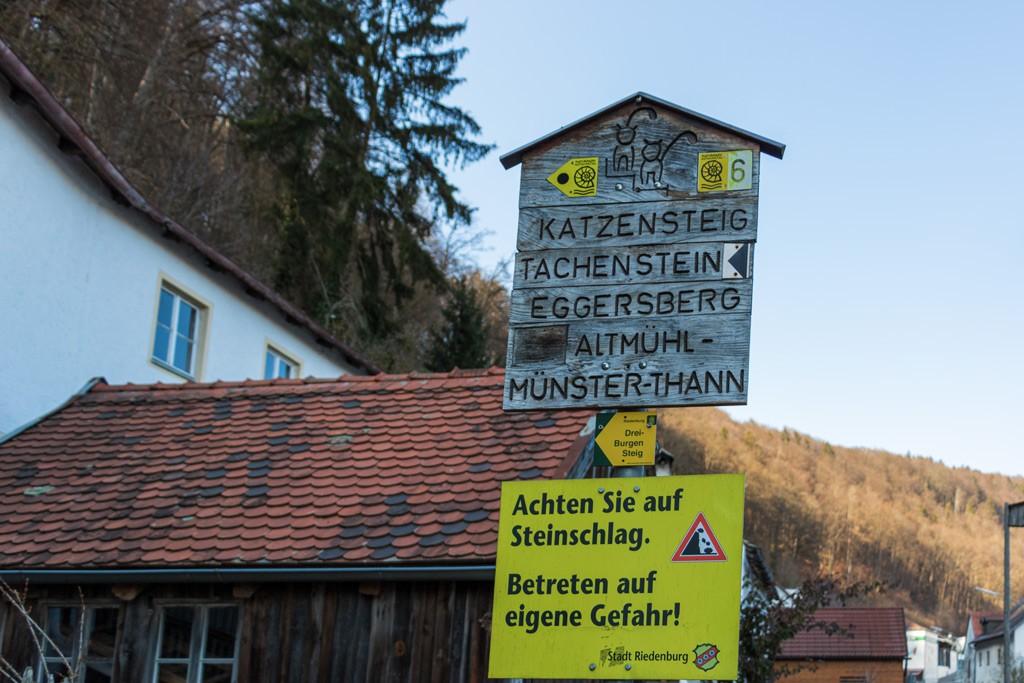 Rundwanderweg Nr. 6 - Eggersberg