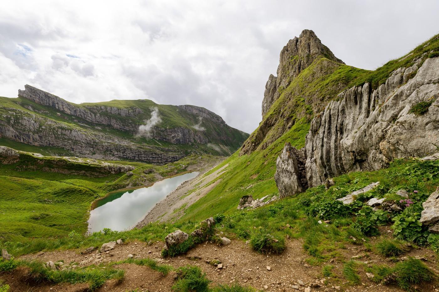 Grubersee Österreich Tirol Rofangebirge