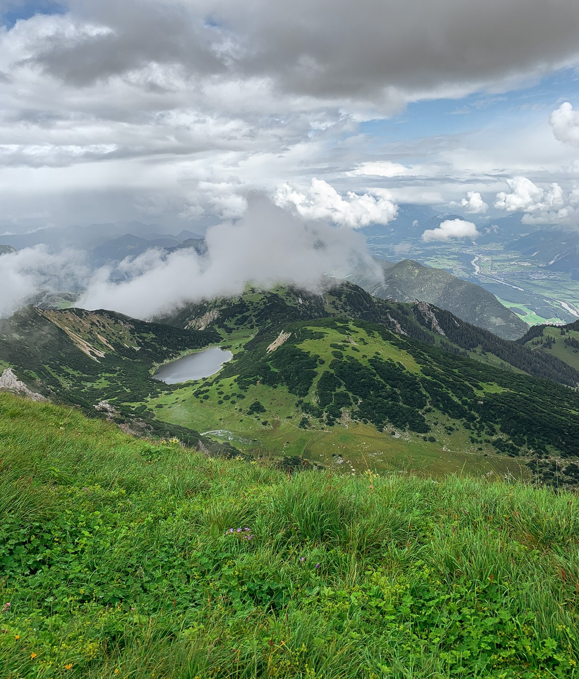 Zireiner See Rofangebirge Tirol