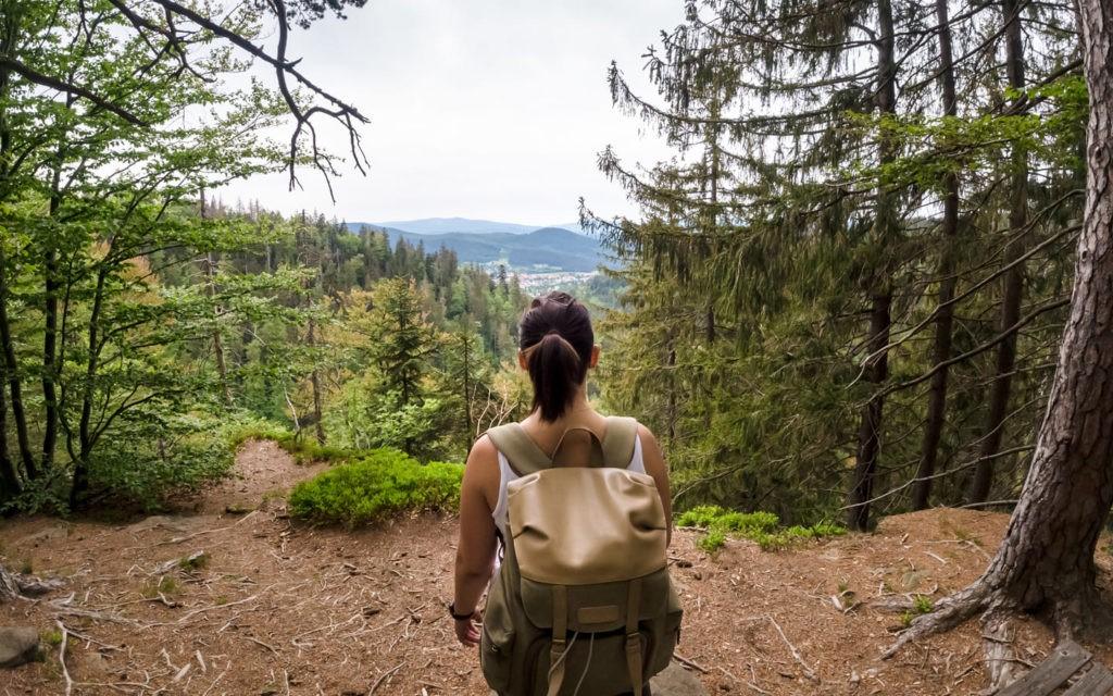 Aussichtspunkt Schweiklruh im Bayerischen Wald