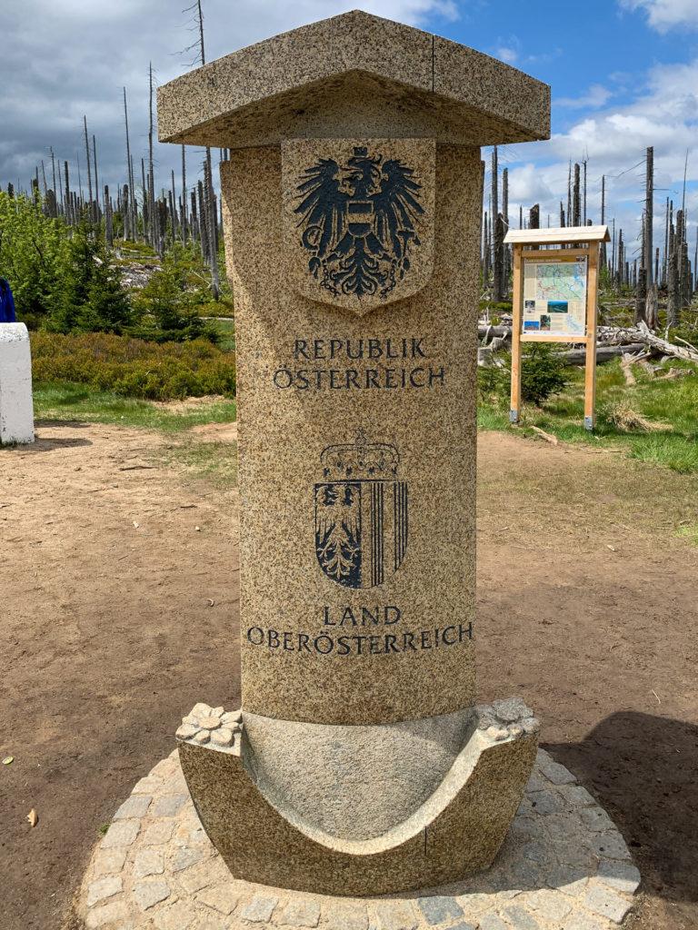 Dreiländereck Säule Österreich