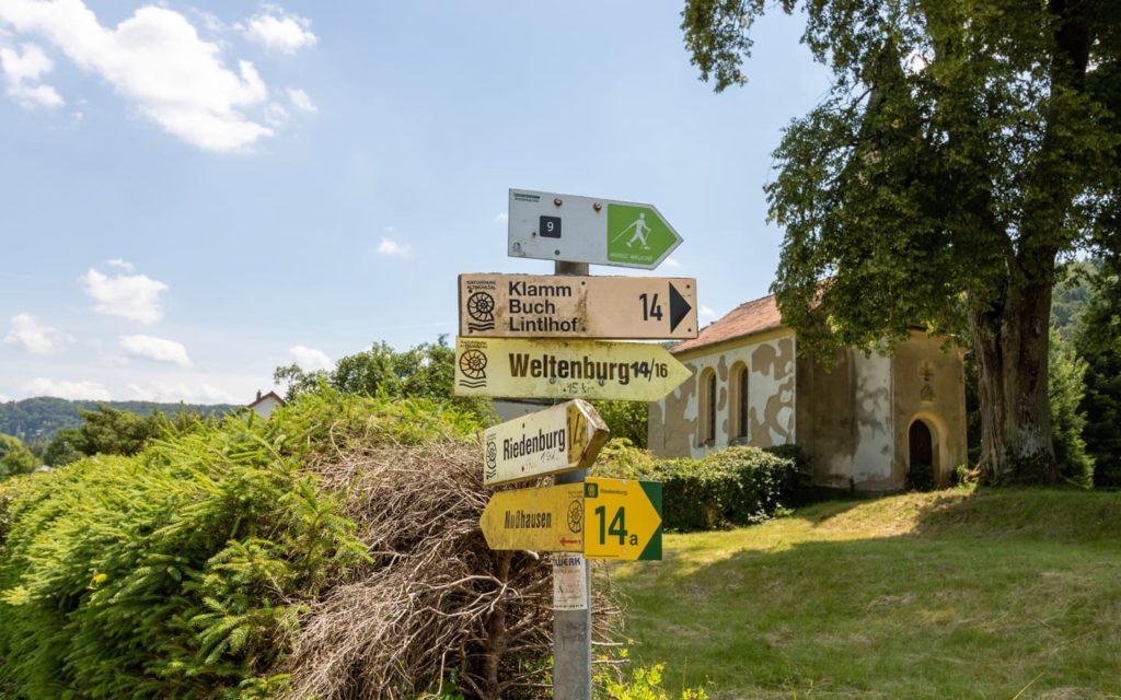 Wegweiser nach Nußhausen