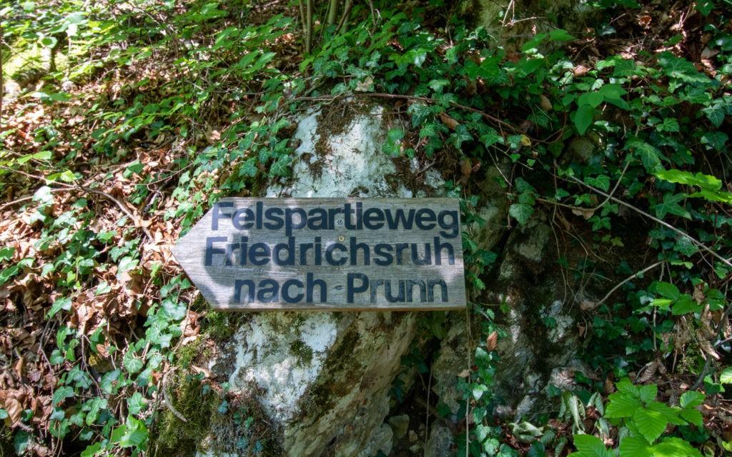 Rückweg nach Riedenburg